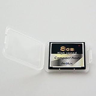 コンパクトフラッシュカード【CF Deolux 8GB】品質もなかなか良い台湾製?ミニケース付