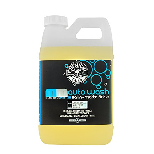 Chemical Guys CWS_995_64 Meticulous Matte Auto Wash, 64 fl. oz, 1 Pack