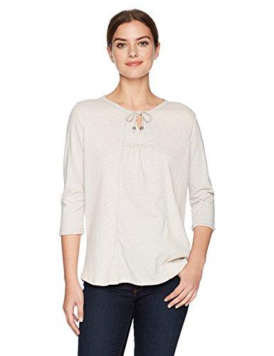 Neon Buddha Women's Standard Bloom Top, Linen, Medium