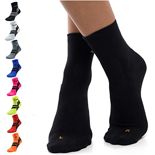 ZaTech Plantar Fasciitis Sock, Ankle Compression & Arch Support Socks