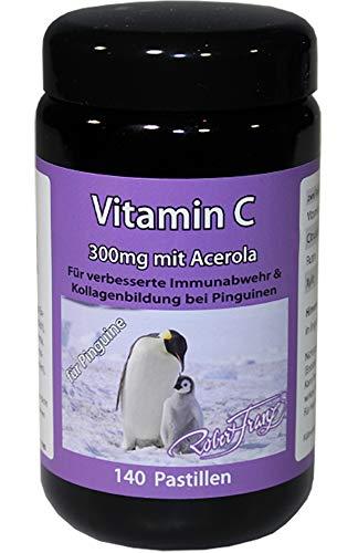 Robert Franz Dogenesis Vitamin C mit Acerola 140 Pastillen für Pinguine