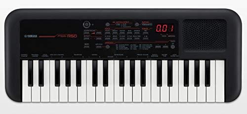 Mini Teclado Musical Yamaha com 37 teclas PSS-A50 - Preto