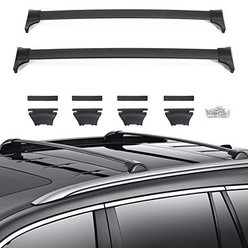 VZ4X4 Crossbars Roof Racks Cross Bars, Compatible with Honda Pilot 2016-2020 - Black