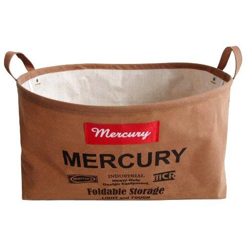 MERCURY マーキュリー Canvas Oval Bucket キャンバス オーバル バケツ キャメル