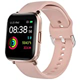Smart Watch, YONMIG Fitness Tracker with Heart Rate/Sleep/SpO2/Heart Health Monitor, 18 Sport Modes