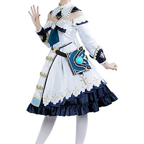原神 モンド城 バーバラ コスプレ衣装 ワンピース 仮装 舞台衣装 大人用 COSONSEN (男性オーダサイズ)