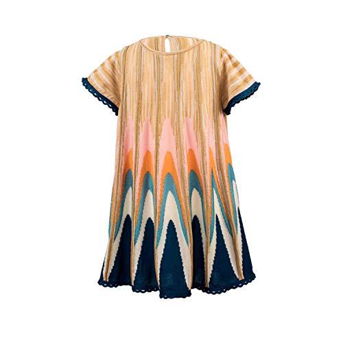 Missoni Kurzarm-Kleid - bunt, Größe:2 Jahre / 92