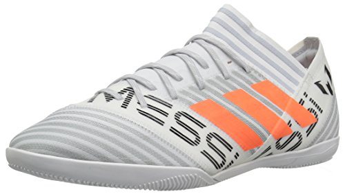adidas Men's Nemeziz Messi Tango 17.3 in Soccer Shoe, White/Solar Orange/Black, 8 Medium US