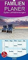 Sylter Lichtstimmungen - Familienplaner hoch (Wandkalender 2022 , 21 cm x 45 cm, hoch): Lichtstimmungen auf Sylt (Monatskalender, 14 Seiten )