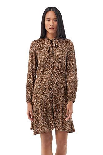 Salsa Vestido con Estampado Leopardo