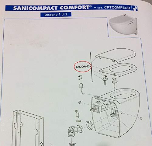 SFA Sedile Sanicompact Comfort dal 2013 SA200103