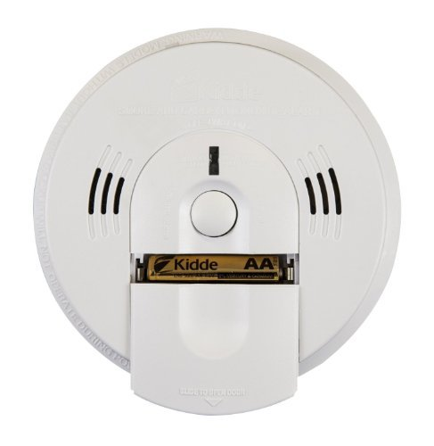 2 Pack OfKidde KN-COSM-B Battery-Operated Combination Carbon Monoxide and Smoke Alarm with Talking Alarm