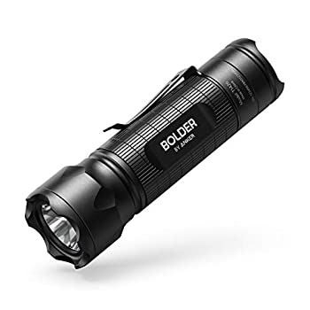 Anker Bolder LC30 Flashlight LED Torch Super Bright 300 Lumens CREE LED IPX5 Water Resistant 3 Modes High/Low/Strobe Pocket Sized