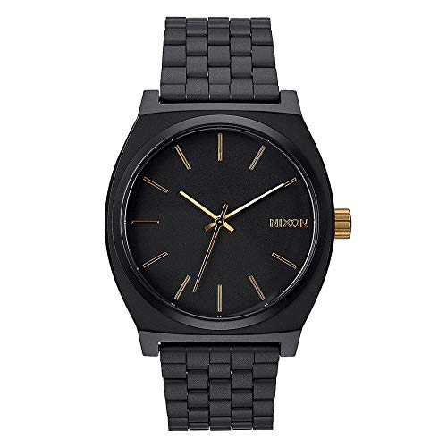 NIXON Time Teller Matte black / gold Fall Winter 16-17 - One Size