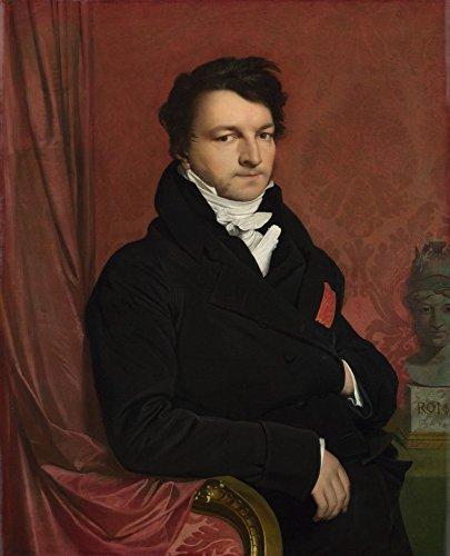 The Museum Outlet–jean-auguste-dominique Ingres–Monsieur de Norvins–Poster Print Online Buy (101,6x 127cm)