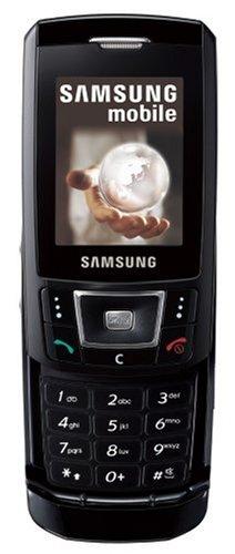 Samsung SGH-D900 Telefon mobil QuadBand GSM 850/900/1800/1900 GPRS schwarz