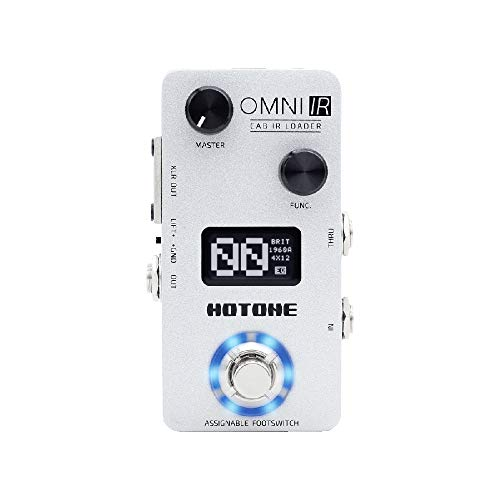 Hotone Omni IR Cabinet Simulator Guitar or Bass Pedal
