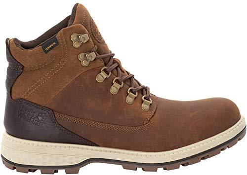 Jack Wolfskin JACK TEXAPORE MID M Wasserdicht Combat Boots Herren, Braun (Desert Brown/Espresso 5213), 48 EU