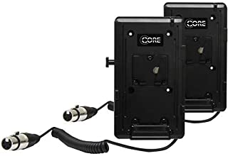 Core SWX Double V-Mount Plate Kit with Coiled Powertap to 12