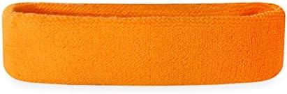 Suddora Kids Headband Soft Terry Cloth Sports Head Sweatband for Youth Basketball Soccer and product image