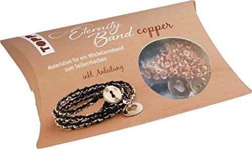 Eternity Band Set copper: Materialset für ein Wickelarmband zum Selbermachen