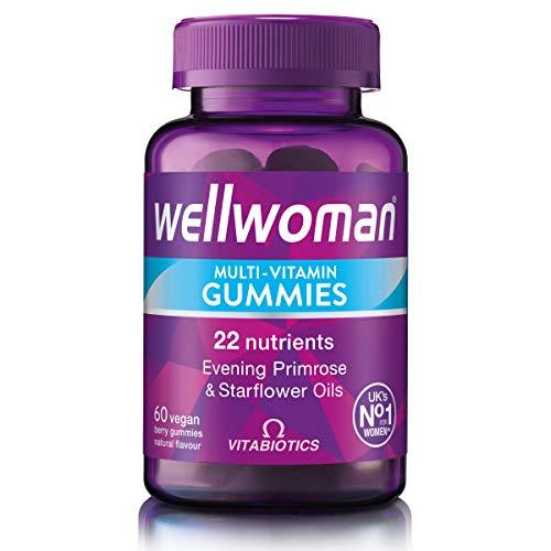 Vitabiotics Wellwoman Multi-Vitamin Gummies 60 Vegan Berry Gummies Purple