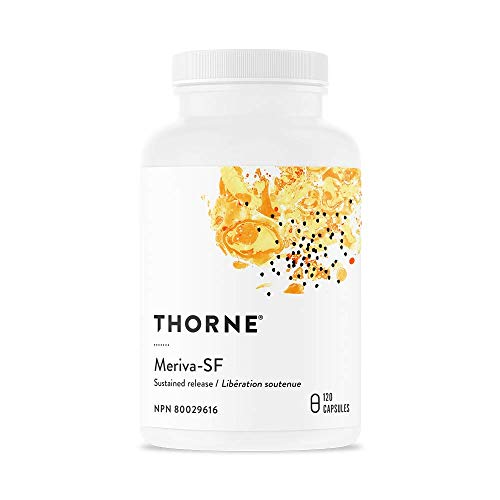 Thorne Research - Meriva-SR - (Contains Soy) - Curcumin Phytosome Supplement - 120 Capsules (Old Formula)