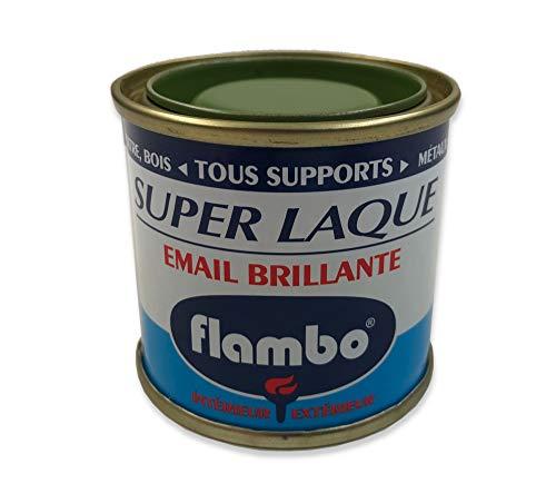 Saphir Flambo 5000280 Peintures Glycéro, Kaki