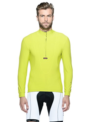 Nalini Fahrradshirt Warmt Limette L