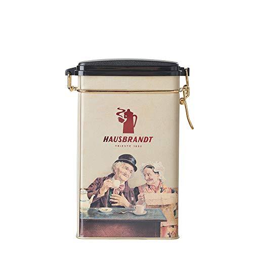 Hausbrandt Barattolo Anniversario, caffè tostato e macinato per la moka, barattolo da 250g
