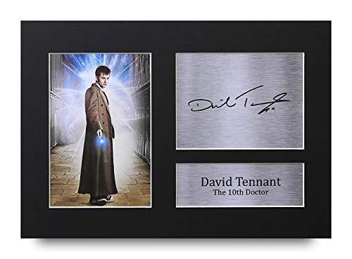 HWC Trading David Tennant A4 Ungerahmt Signiert Gedruckt Autogramme Bild Druck-Fotoanzeige Geschenk Für Dr Who Tv-Show-Fans