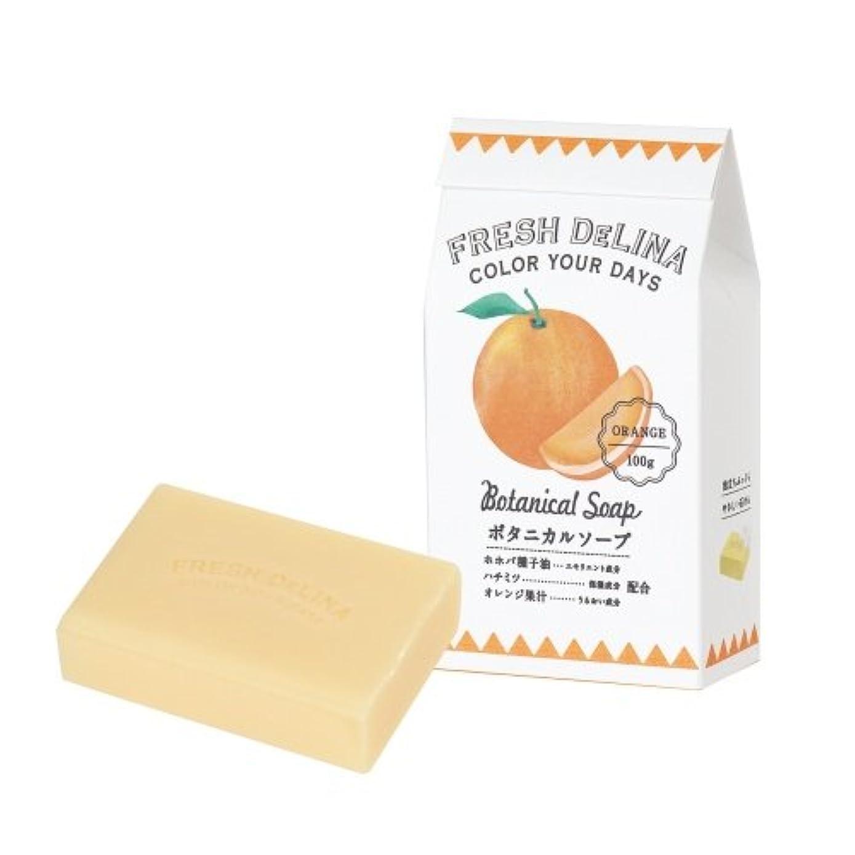 ミス苦難好色なフレッシュデリーナ ボタニカルソープ オレンジ 100g