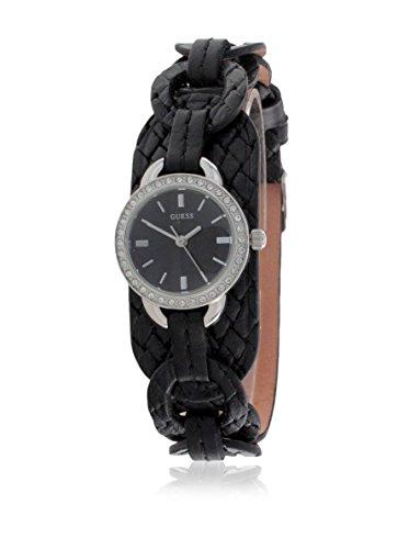 Guess W70027L2 - Reloj para Mujeres, Correa de Cuero Color Negro