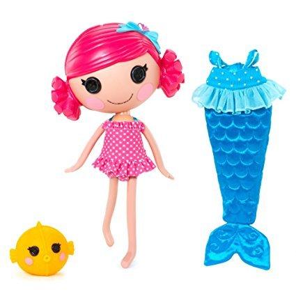 MGA Lalaloopsy Sew Magical Mermaid Doll - Coral Sea Shells- No Box