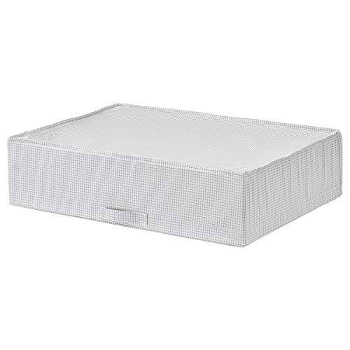 BestOnlineDeals01 STUK Caja de almacenamiento, blanco/gris, 71 x 51 x 18 cm para niños y uso doméstico. Cajas y cestas para niños, cajas de almacenamiento y cestas. Almacenamiento y organización. Respetuoso con el medio ambiente.