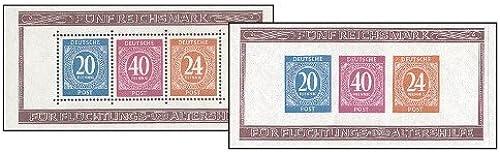 Goldhahn Alliierte Besetzung Gemeinschaftsausgaben Block 12A+B postfrisch  Briefmarken für Sammler