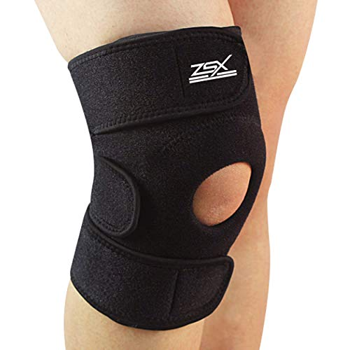 ZSX Compression Knee Brace Support Protector Adjustable, Pain Relief, Injury...