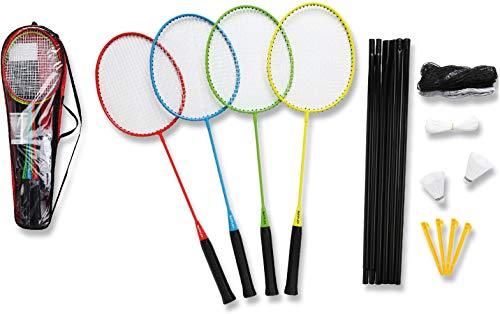 Sunflex Matchmaker 4 Badminton Set bunt Einheitsgröße