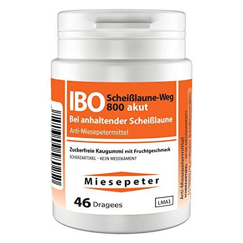 Miesepeter Kaugummi - IBO Scheißlaune-Weg 800 akut Lustige Witzige Scherzartikel