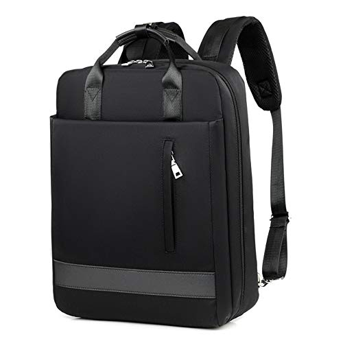 TEYUN Rechargeable Backpack Large Capacity Backpack 15.6inch (Color : Black, Size : 15.6inch)