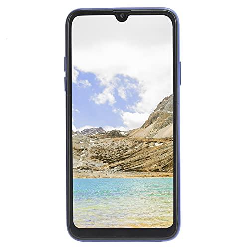 Qiancent Smartphone, Pantalla de 6.5in Smartphone, 1.4 + 16G Cámaras duales Tarjetas duales Doble Modo de Espera 100‑240V, ABS + Glass Smartphone, Diseño Integrado(EU)