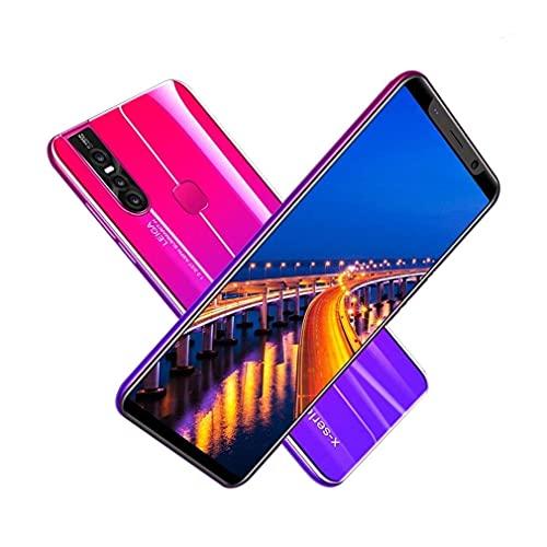Nsdsb Smartphonex27Plus 5.8 Pulgadas Teléfono Inteligente Pantalla Grande Unicom 3G Teléfono Móvil EU Púrpura