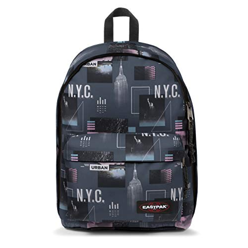 Eastpak Out Of Office Zaino, 44 Cm, 27 L, Grigio (Shapes Grey)