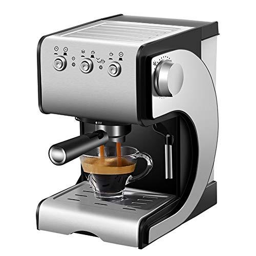 Espressomachine Elektrische, halfautomatische commerci?le koffiemachine Fancy melkschuimmaker Espressokoffiezetapparaat Roestvrijstalen koffiemachine