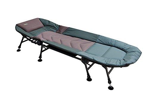 MK-Angelsport '5 Seasons 8 Bein Liege Bedchair Karpfenliege Gartenliege Liege Modell 2020