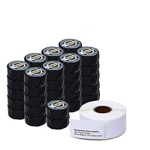 "OfficeSmartLabels - 3/4"" x 2"" Return Blank Address Labels/Multipurpose Labels, Compatible with 30578 (42 Rolls - 500 Labels Per Roll)"