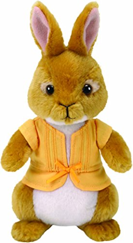 TY 42277TY Mopsy Peter Rabbit Plüsch Hase, Gelb