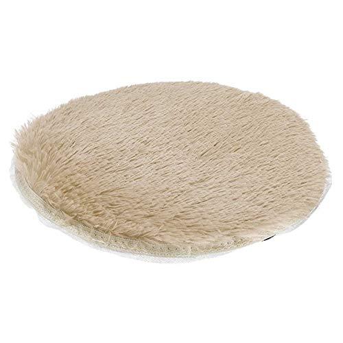 Dadiao warmtekussen voor huisdieren, elektrisch kussen voor katten en honden, isolerend kussen met automatische uitschakelfunctie, beige