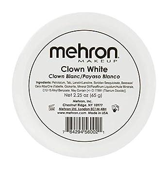 Mehron Makeup Clown White Professional Makeup  2.25 oz
