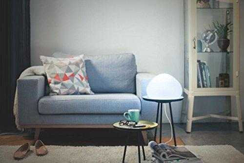 Philips Hue LED Tischleuchte Wellner inkl. Dimmschalter, alle Weißschattierungen, steuerbar auch via App, Glas, weiß, 4440156P7 - 5